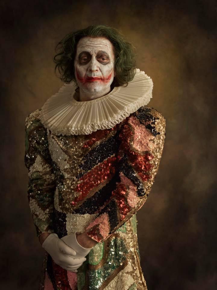 Arthur clown Joker publication Magazine LE POINT juillet 2017