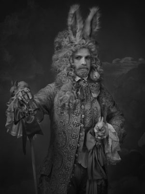 Julien Fournie as the magician